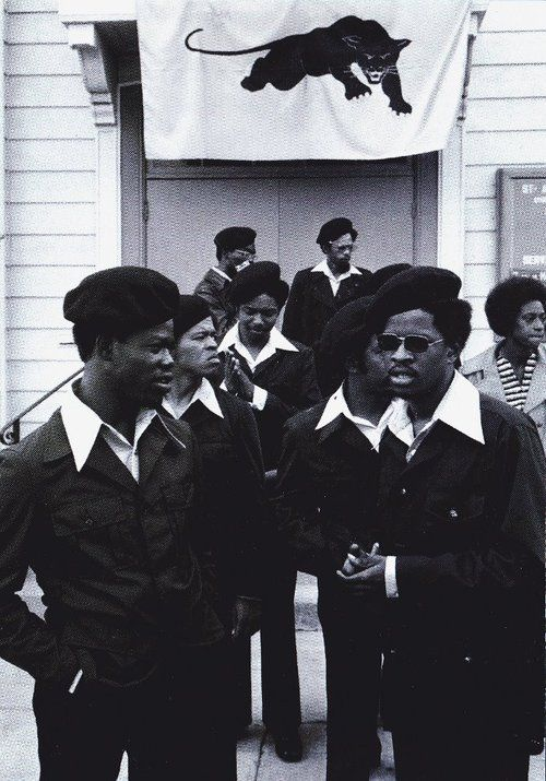 I have familymembersthat were panthers, and even tho I do not agree with some of theirbeliefsandmethods… there is something to be said about organized, purpose driven black men. They will go down in history as the baddest at that time…