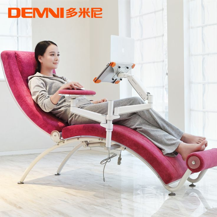 Domini stylish simplicity reclining chair computer chair home laptop table creative leisure US $1708.80  sc 1 st  Pinterest & 9 best LAPTOP CHA?R images on Pinterest | Office chairs Chairs ... islam-shia.org