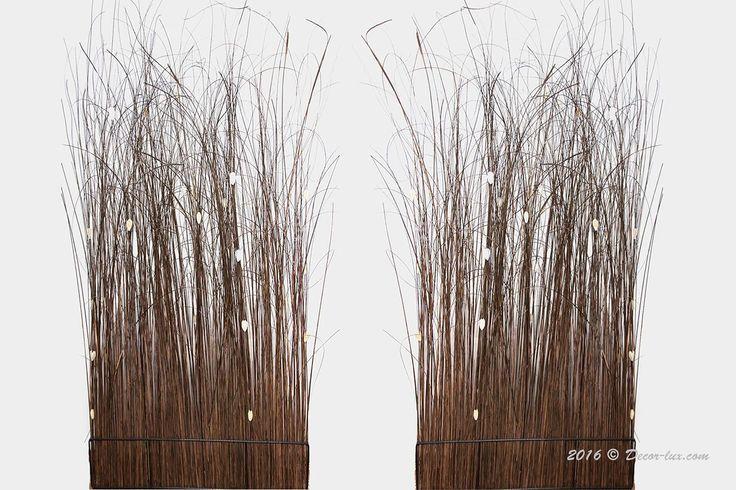 Изгородь живая из травы.