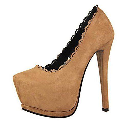 cnWay Wildleder hohen Absatzen wasserdicht Fischkopf hohlen romischen Stil Schuhe Damen Riemchen Plateau Sandalen Stiletto Absatz Frauen Wedge Schuhe - http://on-line-kaufen.de/cnway/cnway-wildleder-hohen-absatzen-wasserdicht-stil-2