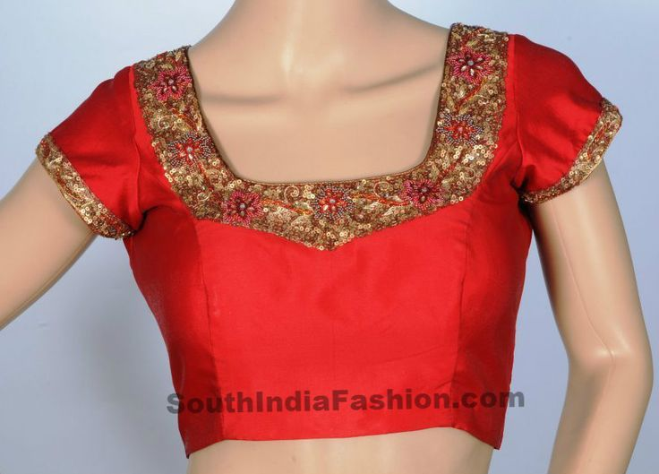 Latest Blouse Designs ~ Fashion Trends ~ - South India Fashion