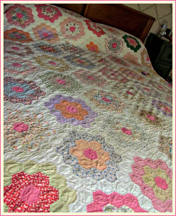 105 best Feedsack quilts etc. images on Pinterest | 1930s, Crafts ... : feedsack quilts - Adamdwight.com