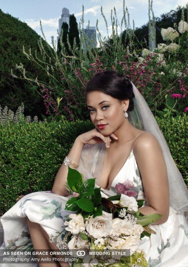 Nice tiffany and co foundation celebration gardens chicago illinois wedding stylized photo shoot
