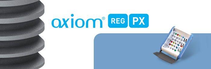 Un singur kit chrurgical pentru ambele sisteme de impanturi Axiom REG si Axiom PX pentru flexibilitate intraoperatorie