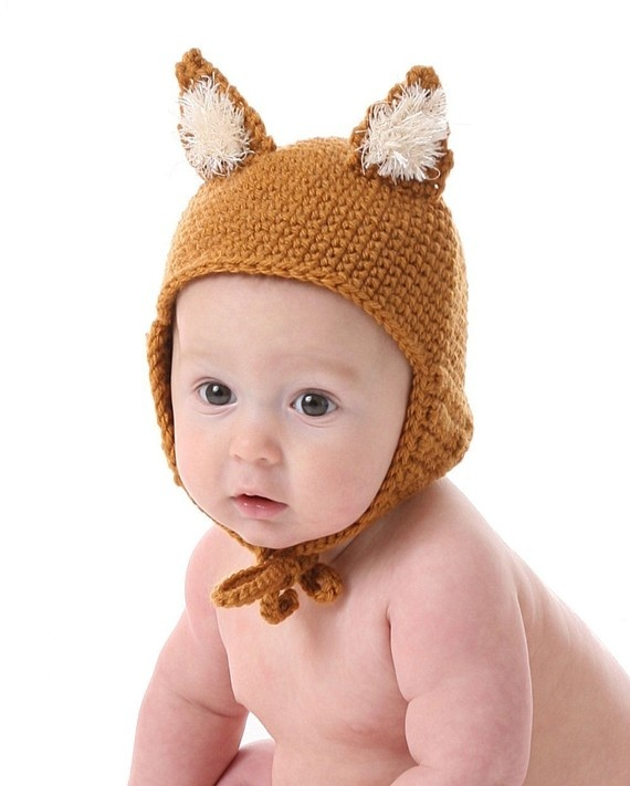 Fox Hat CROCHET PATTERN: Foxes Ears, Hats Patterns, Hat Crochet Patterns, Foxes Hats, Hats Crochet Patterns, Crochet Hats, Crochet Foxes, Baby Crochet,  Poke Bonnets