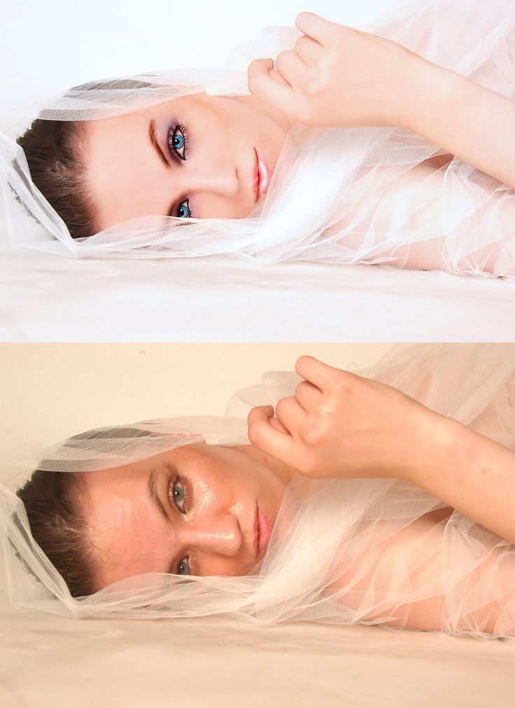 before and after by silverpaw981 Retouching Inspiration: 30 Incredible Before…