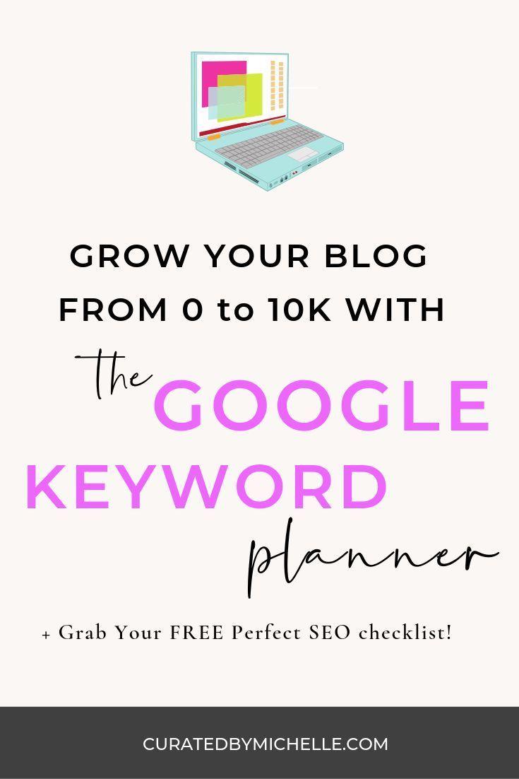 How To Use Google Keyword Planner Keyword Planner Seo Tips Seo For Beginners