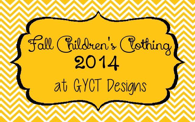 Girls Fall Clothing at GYCT Designs