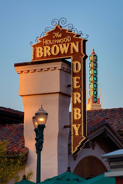 The Hollywood Brown Derby is the signature restaurant #HollywoodStudios #DisneyWorld. A great place for a date night!
