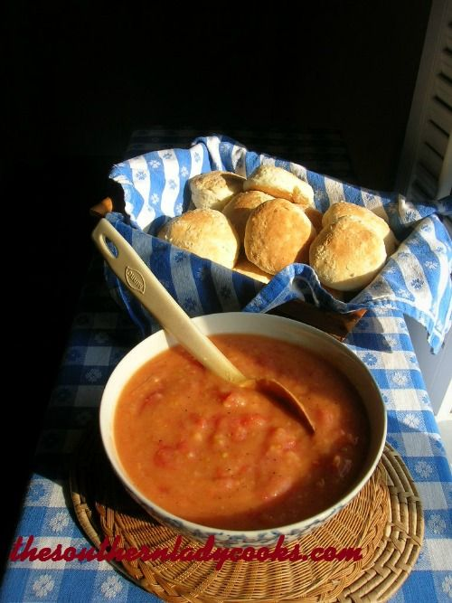 The Southern Lady Cooks: SOUTHERN TOMATO GRAVY. Good on many dishes, including fresh biscuits!
