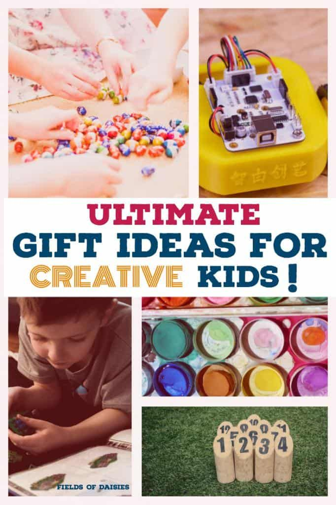 Unique Gift Ideas for Creative Kids Christmas Gifts Pinterest