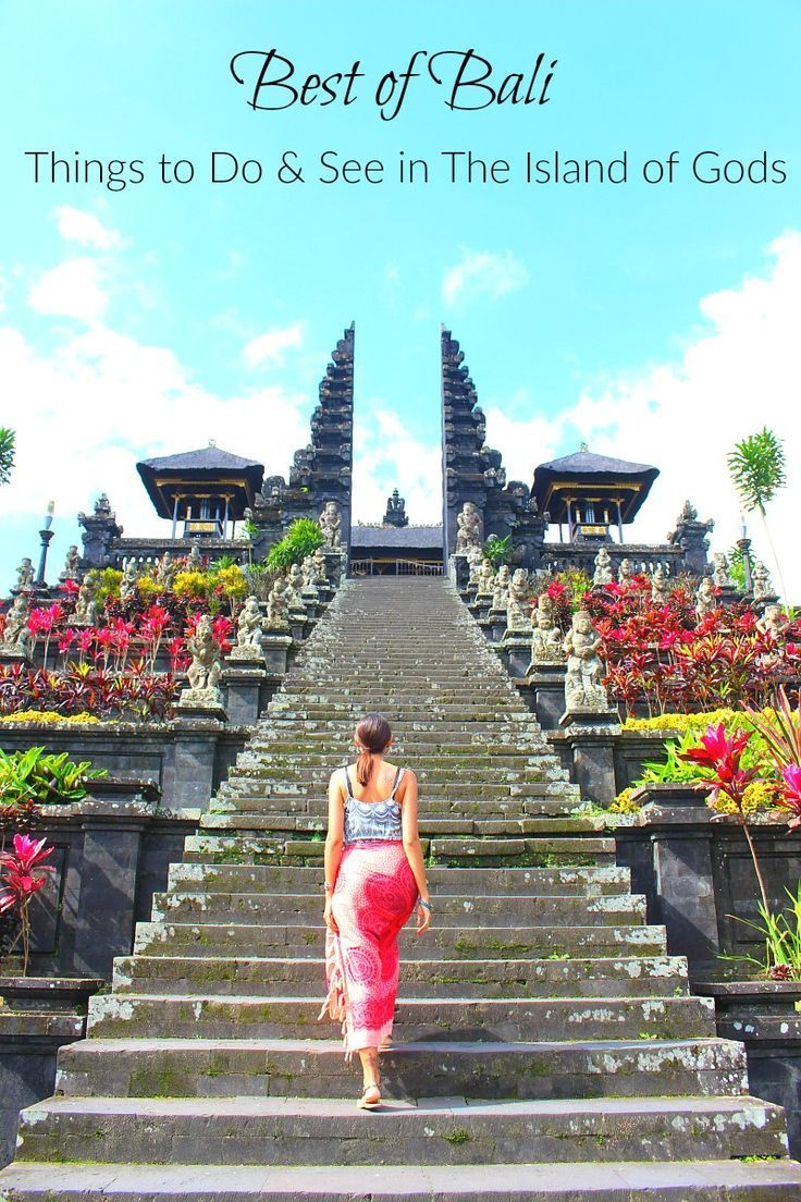Best of Bali: Things to do in the Island of Gods! Local experiences, tourist attractions, and the best places to stay in Bali. All the top things to do in Bali in a practical travel guide to the Island of Gods in Indonesia. via @loveandroad
