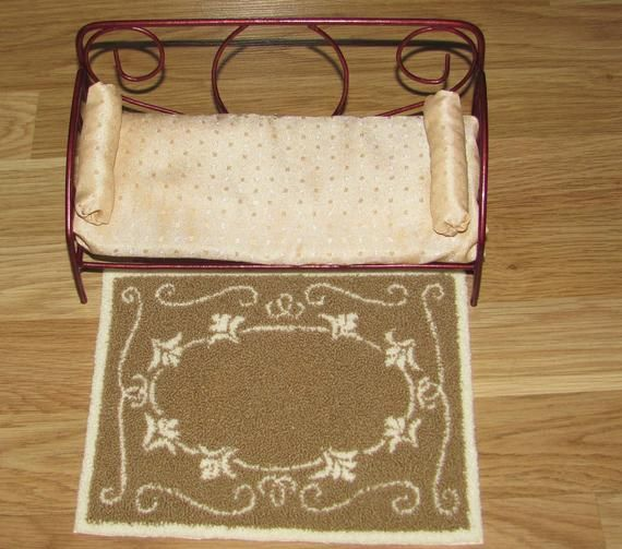 Dollhouse Miniature 1:6 Scale RugCarpet Handmade Punch Needle