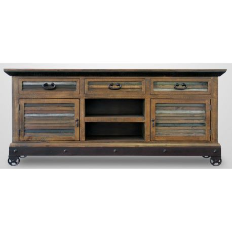Rustic Wood Plasma Tv Stand 72 Colorway Collections