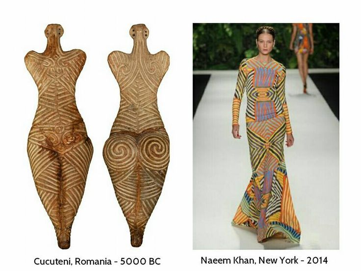 Inspirational Romania! Cucuteni culture meets fashion now! Cucuteni is a Neolithic–Eneolithic archaeological culture which existed from approximately 4800 to 3000 BC in modern-day Romania!