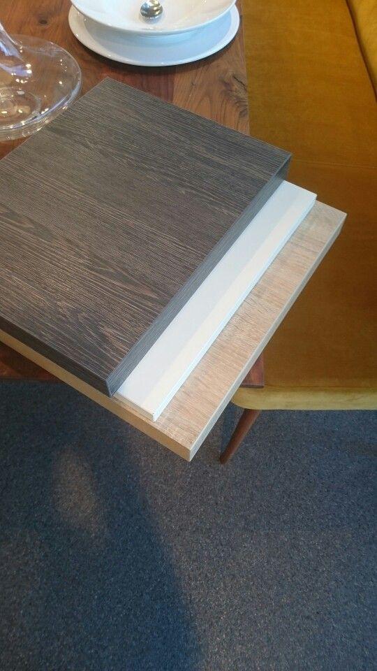 Werkblad - kastjes - vloer