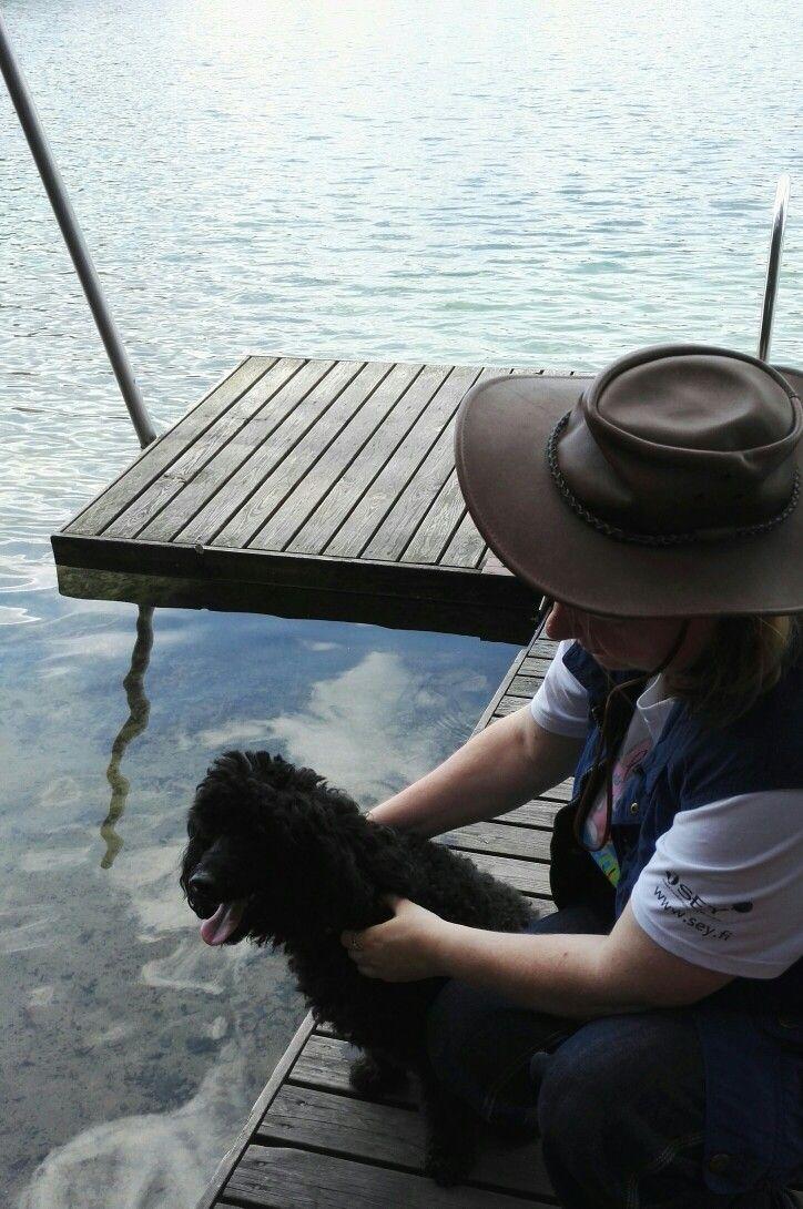 #omaisapu #järveltä #koira #ystävä #lake #friend #dog
