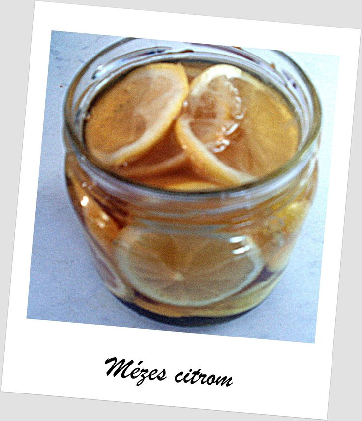 Honey and lemonn mézes citrom
