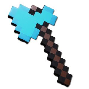 Minecraft Axe Foam Toy