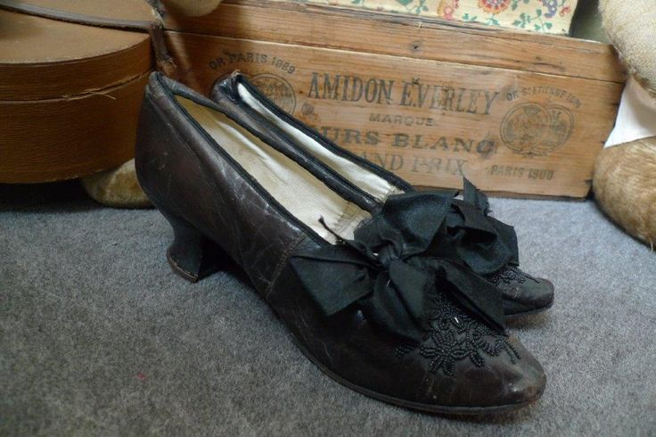 Chaussures anciennes 1900 | Mode ancienne | Chaussure