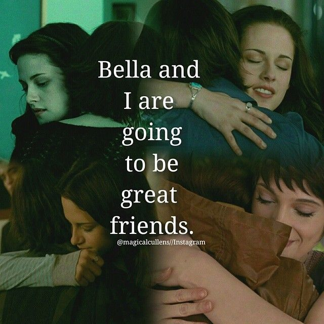Twilight Saga ~ Bella and Alice, cred: courtney collins