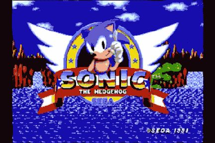 Retropelit - Sonic the Hedgehog