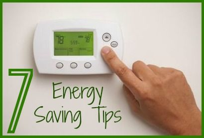Top 7 energy saving tips for homeowners.