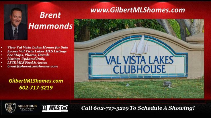 "http://ift.tt/2dMAwmS For Val Vista Lakes information  Brent Hammonds at (602) 717-3219.  You may also visit http://ift.tt/2ehvG3A to access all Homes for Sale in Val Vista Lakes.  Val Vista Lakes is one of the most desirable areas in Gilbert AZ. Conveniently located near the 202 Freeway  Banner Hospital  great shopping and dining at San Tan Village and Chandler Fashion Square.   Val Vista Lakes is more than just a great master-planned community. Our nine hundred acre ""water-wonderland""…"