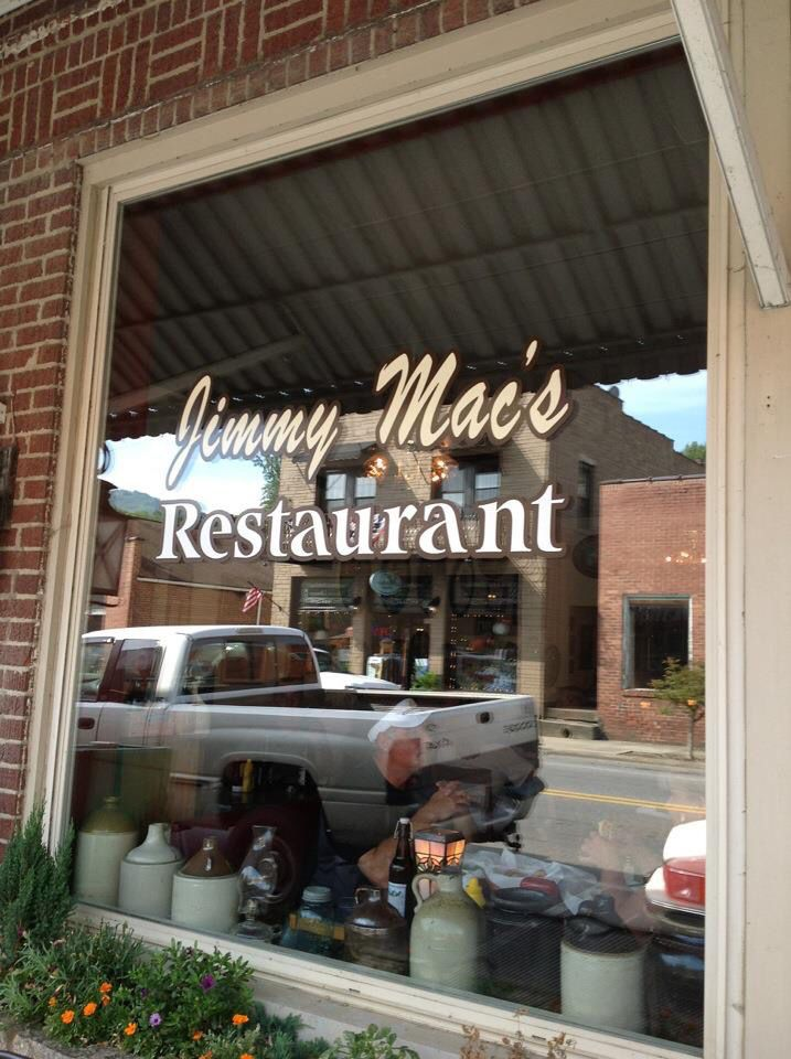 Jimmy S Mac Restaurant In Bryson City North Carolina Great