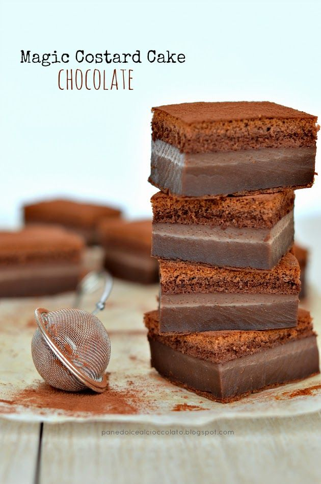 PANEDOLCEALCIOCCOLATO: Torta Magica al cacao