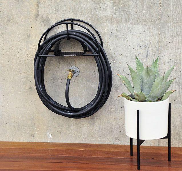 Modern hose rack
