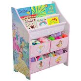 Found it at Wayfair - Disney Princess Book & Toy Organizer