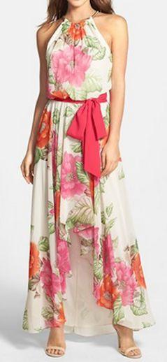 Pretty floral maxi dress http://rstyle.me/n/hndvhnyg6
