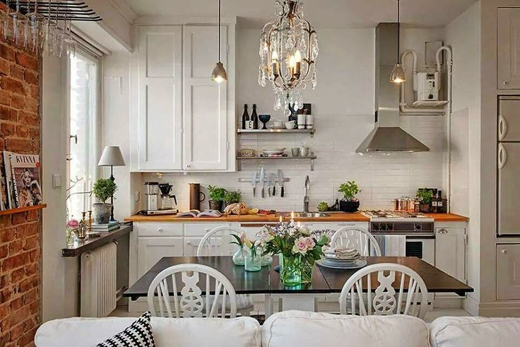 Small Space Living - Small Space Kitchen