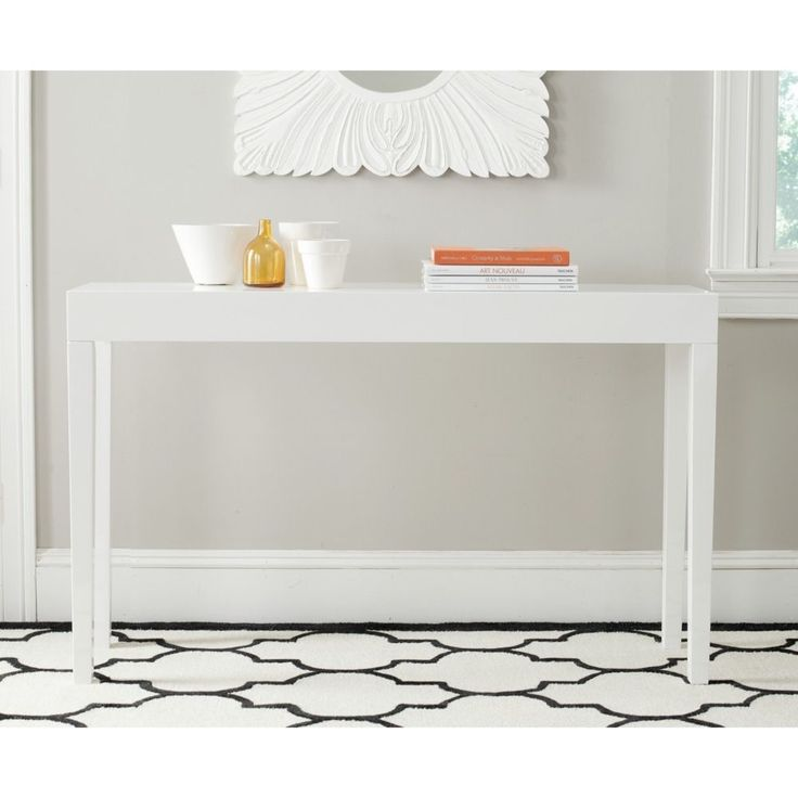 Foyer Console Update : Best ikea console table ideas on pinterest entry
