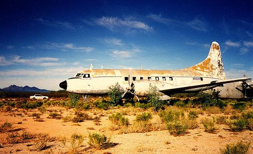 Convair 240 In An Arizona Boneyard By Phillip Capper 14