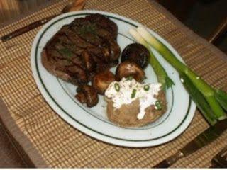 Greek Steak (rib Eye) Recipe