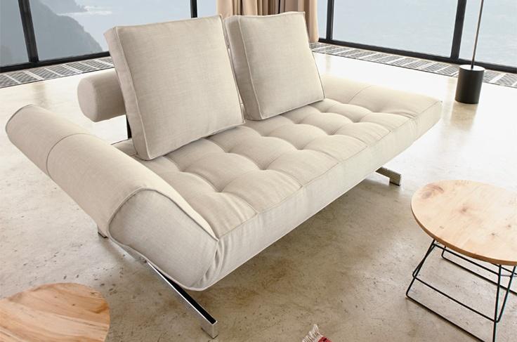 Innovation GHIA Sofa Is A Feminin, Very Small Design Sofa.