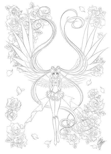 Сейлор Мун 5 (с изображениями) | Книжка-раскраска ...
