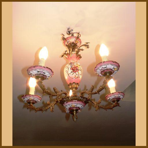 Люстры : Люстра розовая | Lavanda store