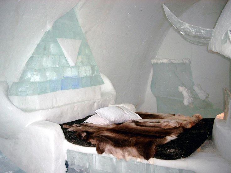 ice hotel alaska - | Take Me Away | Pinterest