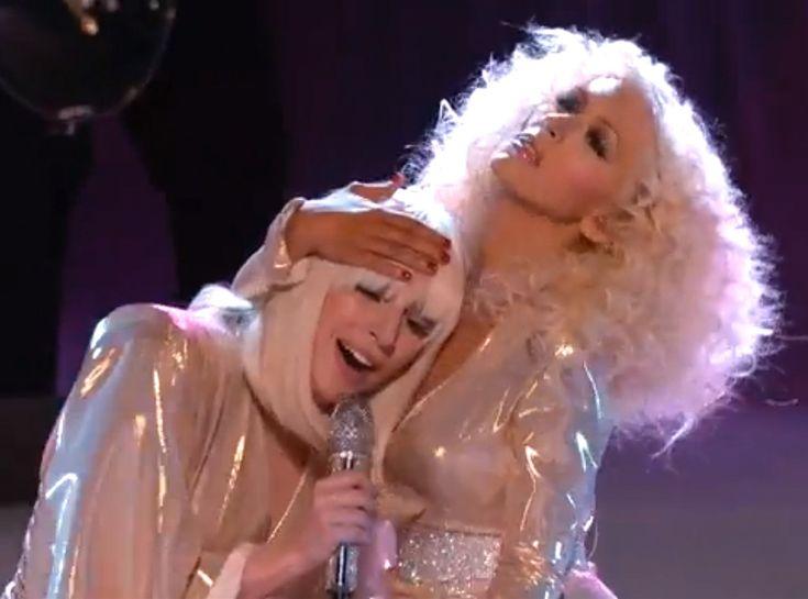 Lady GaGa et Christina Aguilera : Un duo qui promet !