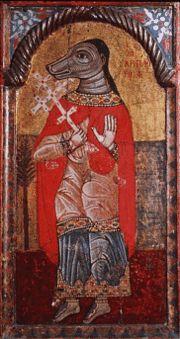 Saint Christopher, Byzantine Museum of Athens