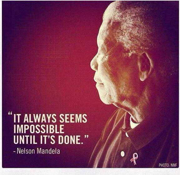 Nelson Mandala, so inspiring