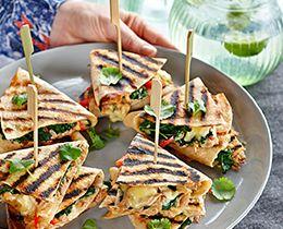 Cheesy Tuna & Spinach Quesadillas PHILLY Recipe