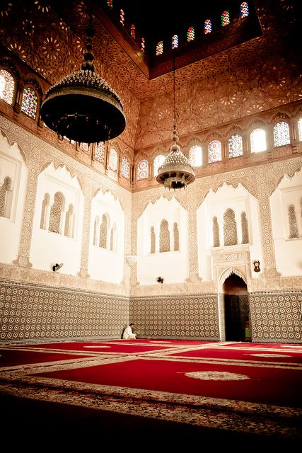 the most calm and serene place ever..the masjid