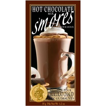 Each mini pouch contains a full 35 grams of our Hot Chocolate mix for a perfect rich cup. This collection features our 'classic truffle' tastes, rich and creamy. Each of our mini beverage pouches come packed in cases of 24 in an attractive shelf display box, just cut along the dotted line and display. Makes 1 serving #9617127 $1.99 www.lambertpaint.com