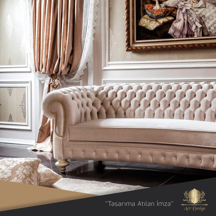 Afrodit Kanepe, İthal Kadife Kumaşla Döşenmiş Chester Kanepe. www.artdesign.com.tr  #mobilya #modoko #afrodit #kanepe #kadife #chester #avangard #avangardmobilya #country #project #lake #furnituredesign #avangardart #design #decor #sofa #velvet #interior #home #interiordesign #luxuryfurniture #artdesign #dekorasyon #decoration