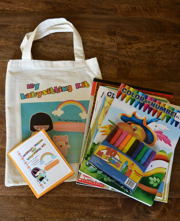 I Love 2 Cut Paper: Babysitting Kit By Lettering Delights