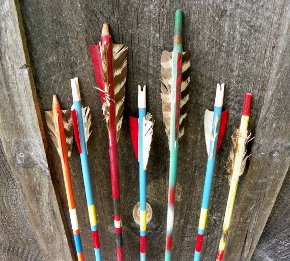 Vintage Arrow Collection Rustic Lodge Camp Western Decor Instant Collection